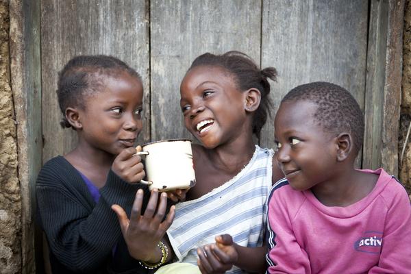 Baindu, Amie and Vandy. Nyeama, Sierra Leone.