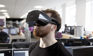 Nottingham Trent student develops virtual reality technology to help people, like him, who stutter