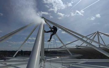 The Bulwell Academy benefits from the rope access treatment