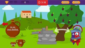 Emile measurement game screenshot