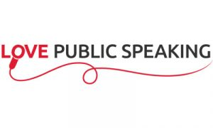 Love Public Speaking Logo